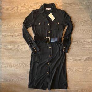 Olive Michael Kors shirt dress